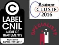 label cnil clusif spécialiste